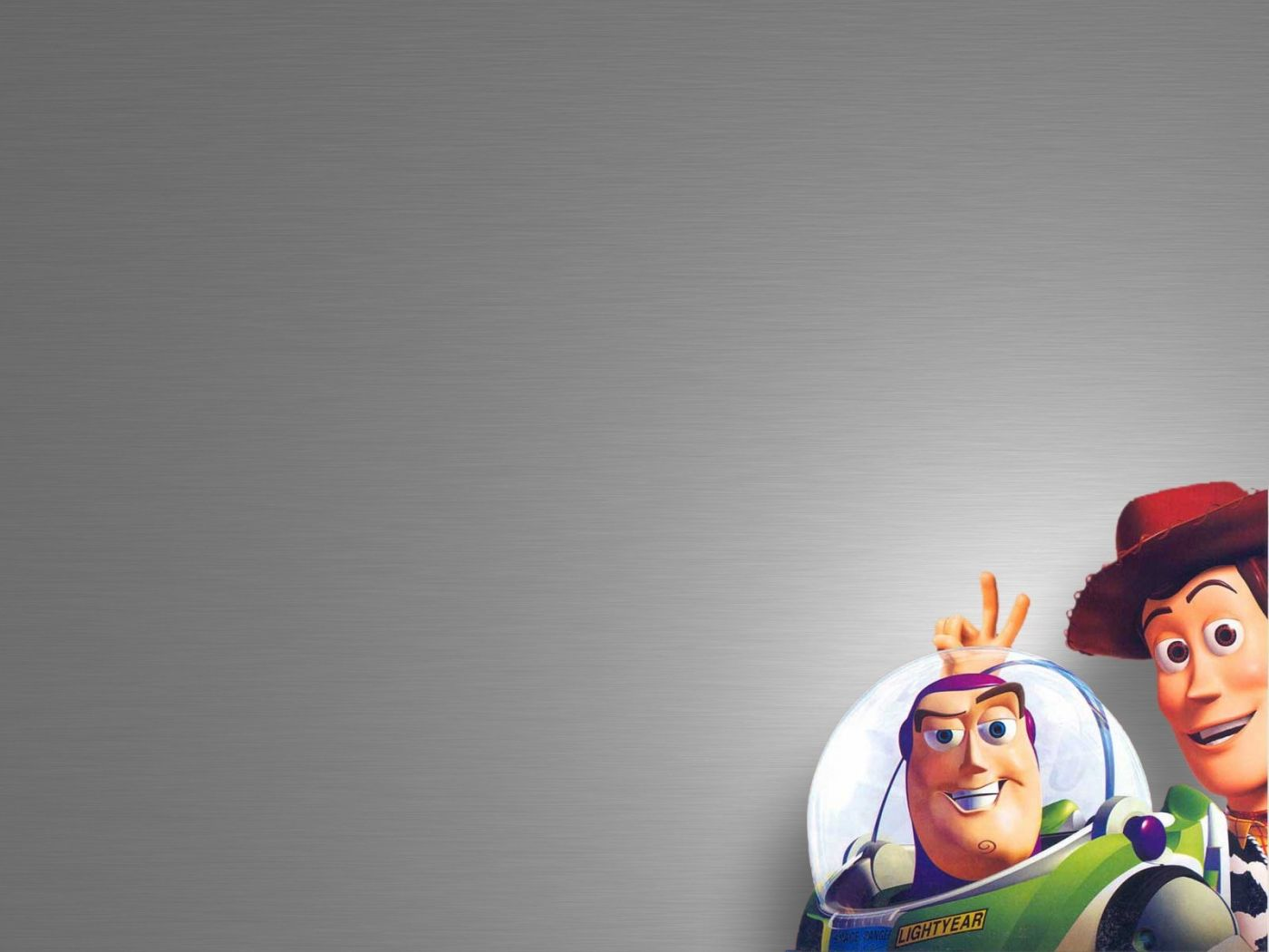 Buzz And Woody Low Corner Wallpaper 1400x1050
