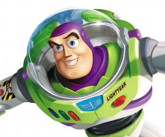 Buzz Lightyear Closeup Top View Wallpaper