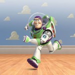 Buzz Lightyear Cloud Wall Wallpaper