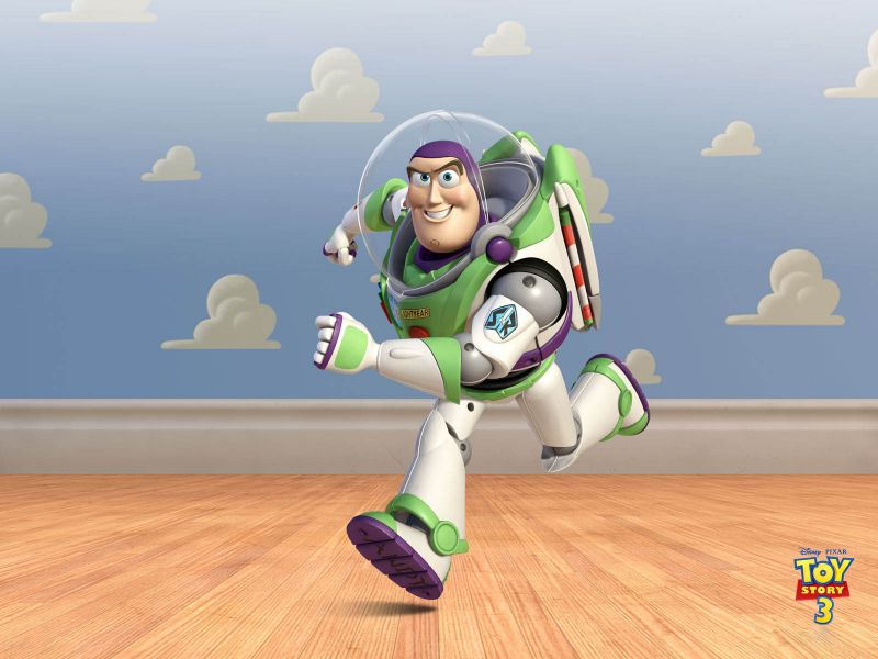 Buzz Lightyear Cloud Wall Wallpaper 800x600
