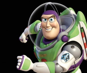 Buzz Lightyear Sideview Pose Wallpaper