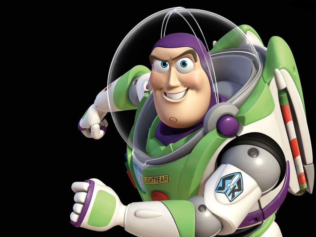 Buzz Lightyear Sideview Pose Wallpaper 1024x768