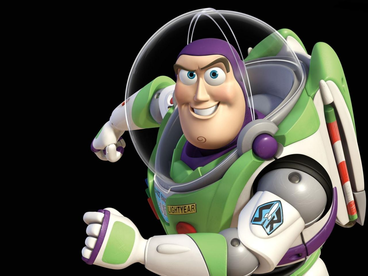 Buzz Lightyear Sideview Pose Wallpaper 1280x960