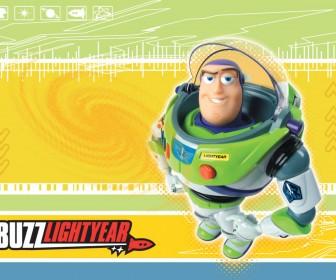 Buzz Lightyear Standing Portrait Wallpaper