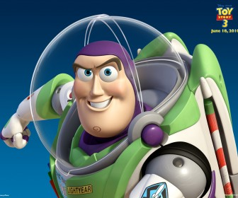 Buzz Lightyear Toy Story 3 Wallpaper