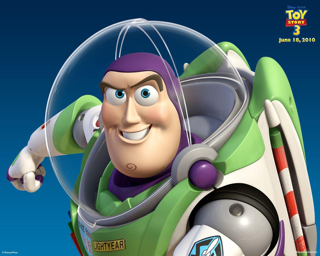 Buzz Lightyear Toy Story 3 Wallpaper 1280x1024