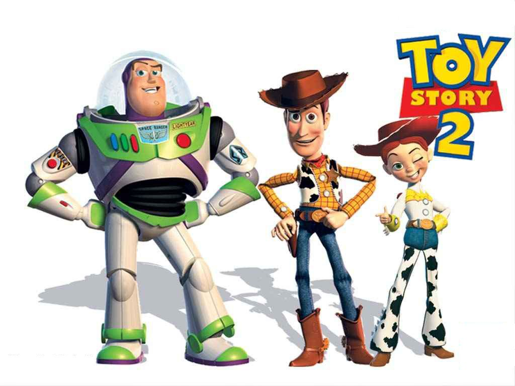 Buzz Woody And Jessie Toy Story 2 Wallpaper 1024  768