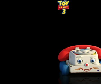Chatter Telephone Black Background Wallpaper