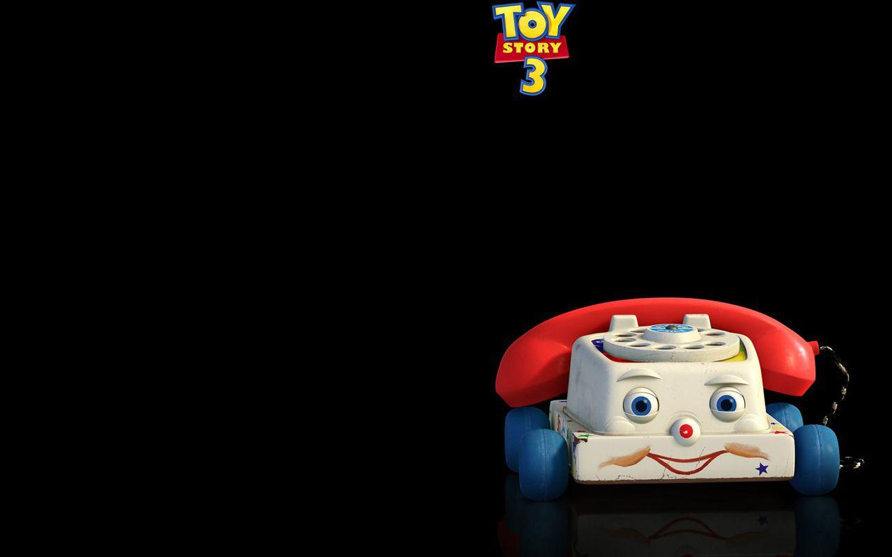 Chatter Telephone Black Background Wallpaper 1280x800