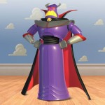 Emperor Zurg Portrait Cloud Wall Wallpaper