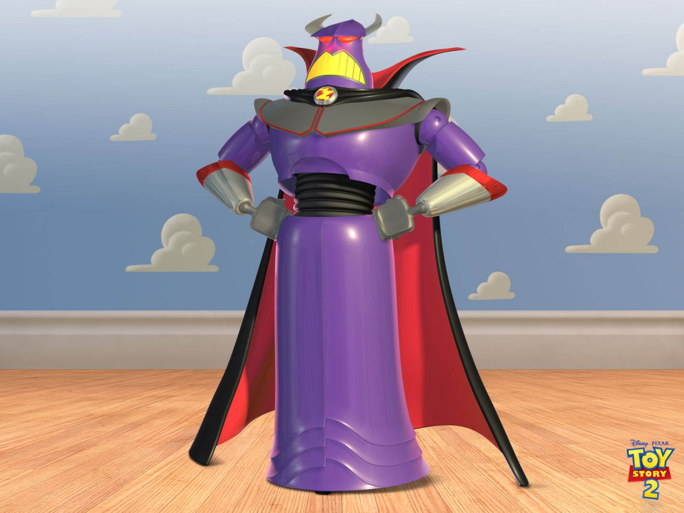 Emperor Zurg Portrait Cloud Wall Wallpaper 1400x1050