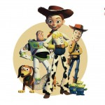 Jessie And Toy Story 2 Characters Wallpaper