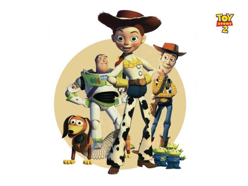 Jessie And Toy Story 2 Characters Wallpaper 800x600