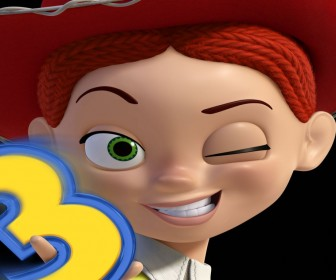 Jessie Closeup Wink Wallpaper