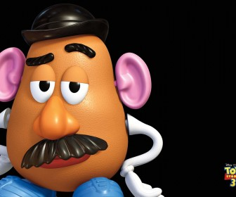 Mr Potatohead Headshot Wallpaper