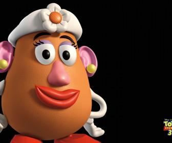 Mrs Potatohead Headshot Wallpaper