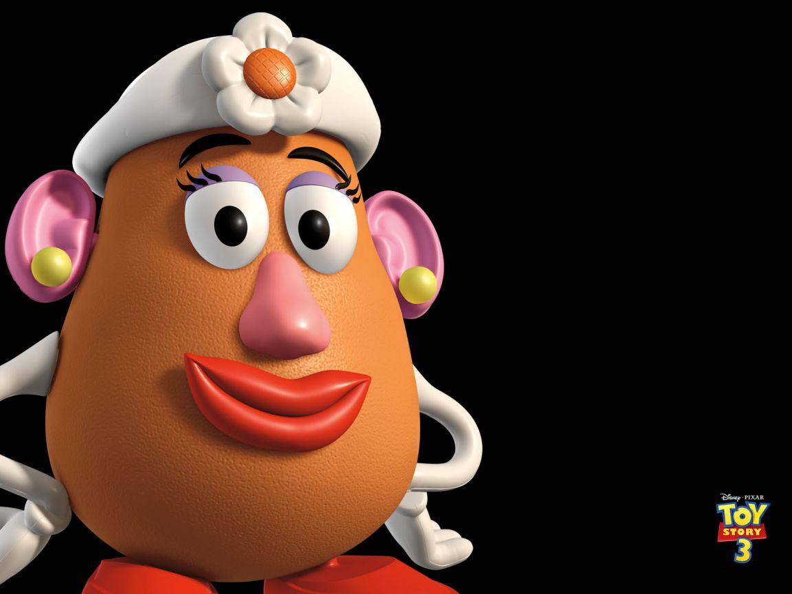 Mrs Potatohead Headshot Wallpaper 1152x864