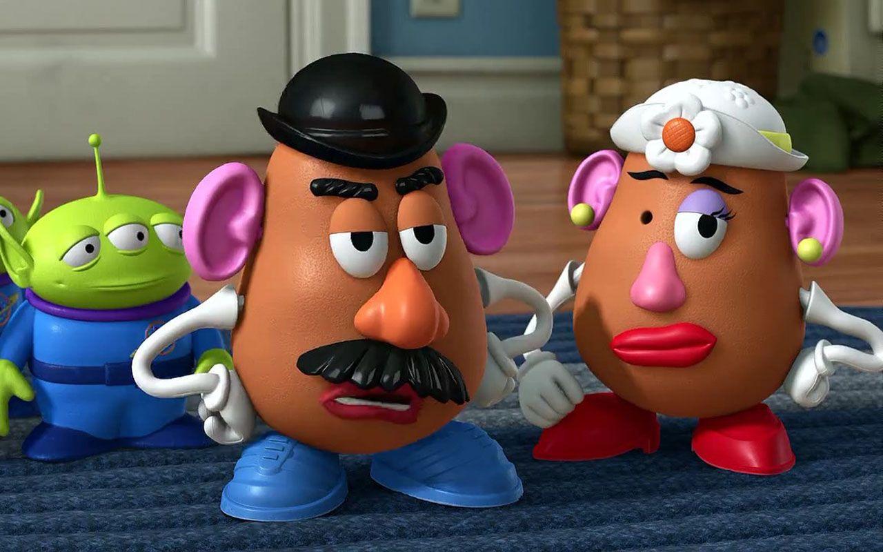 Mrs Potatohead Lose One Eye Wallpaper 1280x800