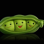 Peas In A Pod Portrait Wallpaper