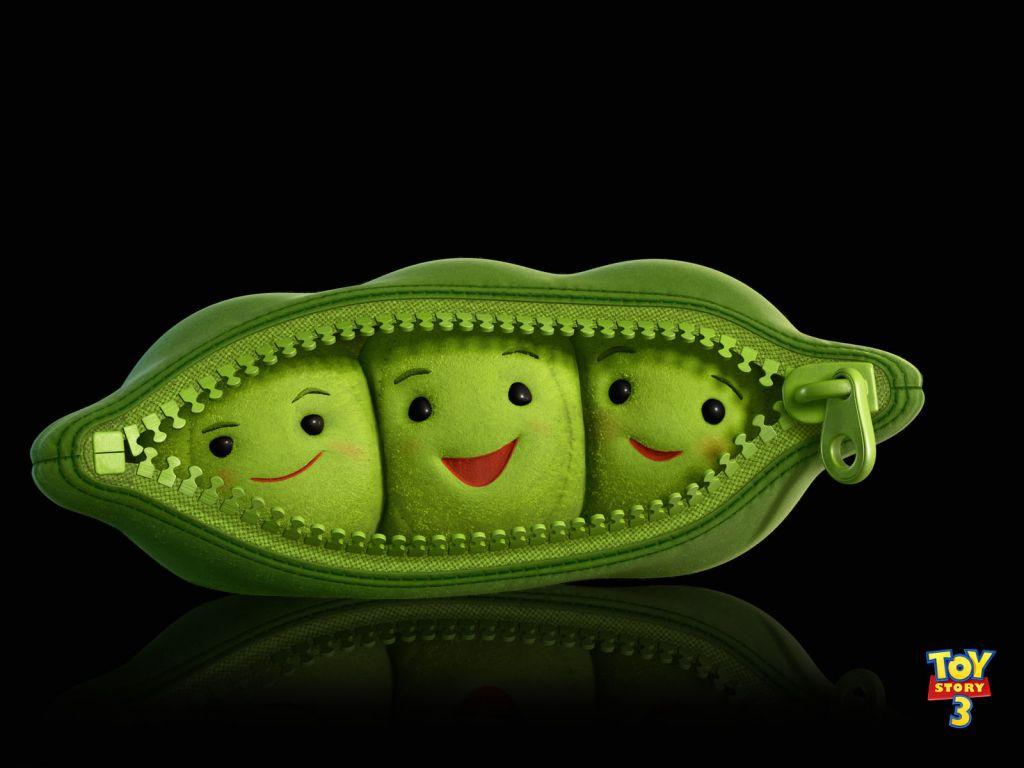 Peas In A Pod Portrait Wallpaper 1024x768