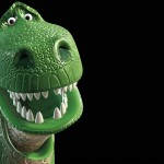 Rex Headshot Toy Story 3 Wallpaper
