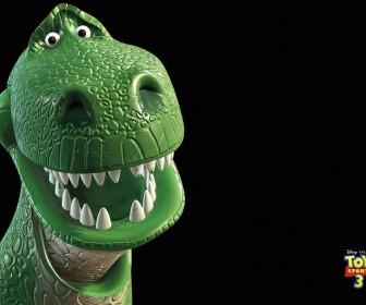 Rex Headshot Toy Story 3 Wallpaper