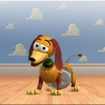 Slinky Dog Cloud Wall Wallpaper