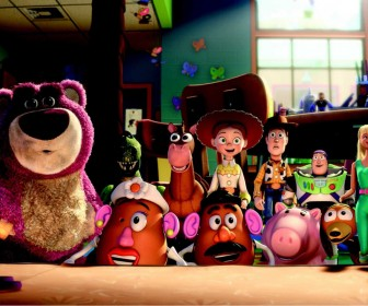 Toy Story 3 Characters Surprised Wallpaper