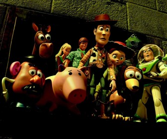 Toy Story 3 Characters Worried Wallpaper