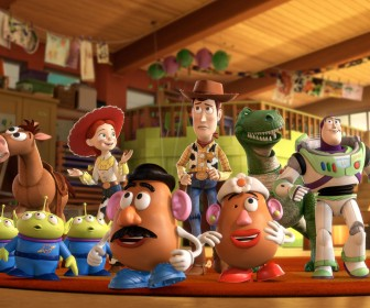 Toy Story 3 Complete Characters Wallpaper
