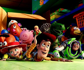 Toy Story Characters Out Of The Box Wallpaper