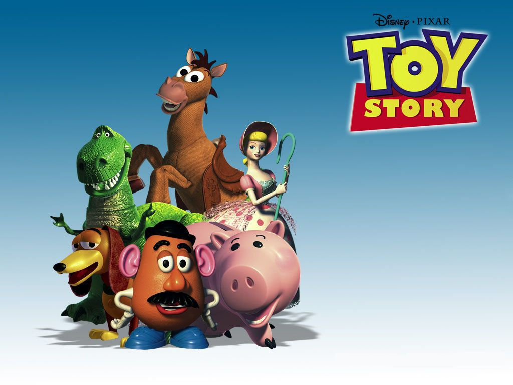Toy Story Characters Portrait Wallpaper 1024x768