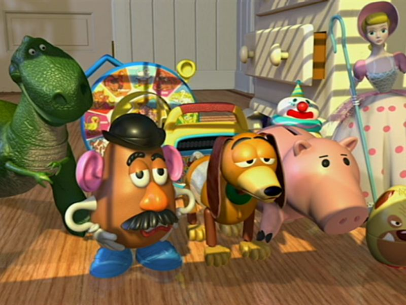 Toy Story Characters Screenshot Wallpaper 800x600