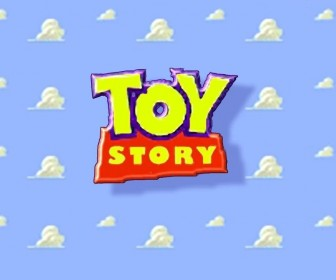 Toy Story Title Logo Wallpaper