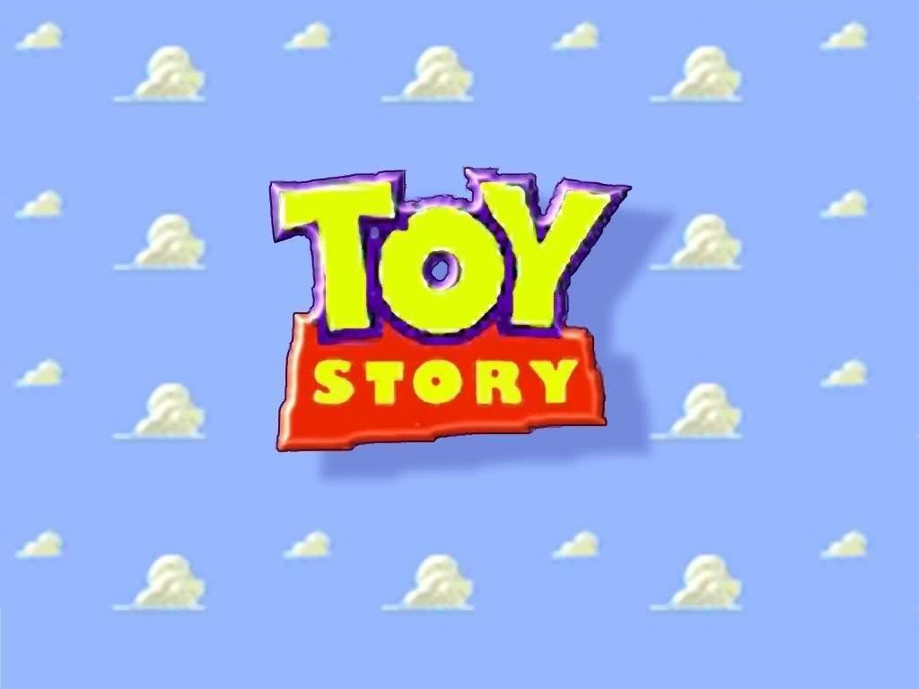 Toy Story Title Logo Wallpaper 1024x768