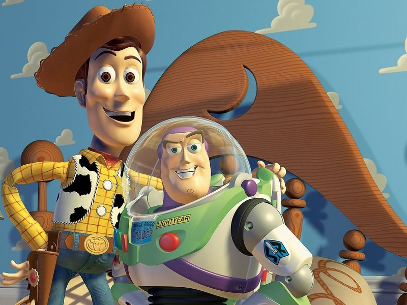 Woody And Buzz Closeup Wallpaper 800x600