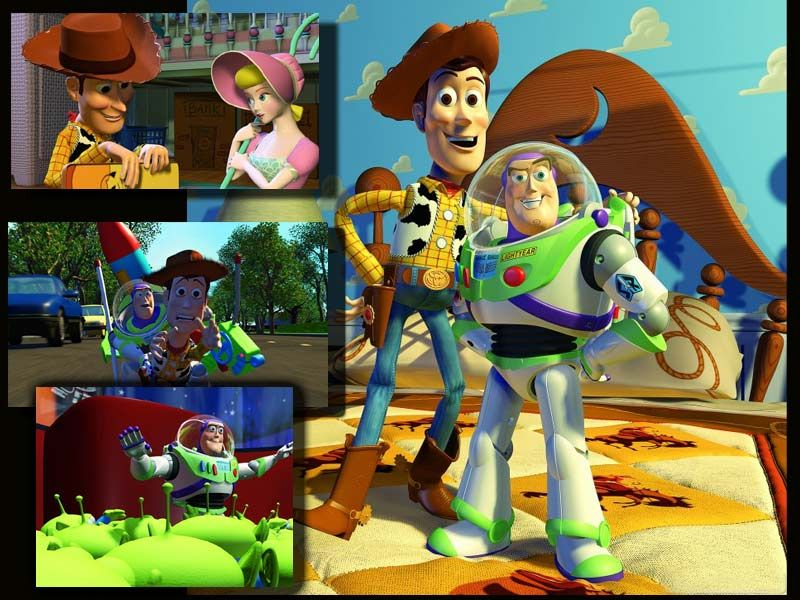 Woody And Buzz Screenshots Wallpaper 800x600