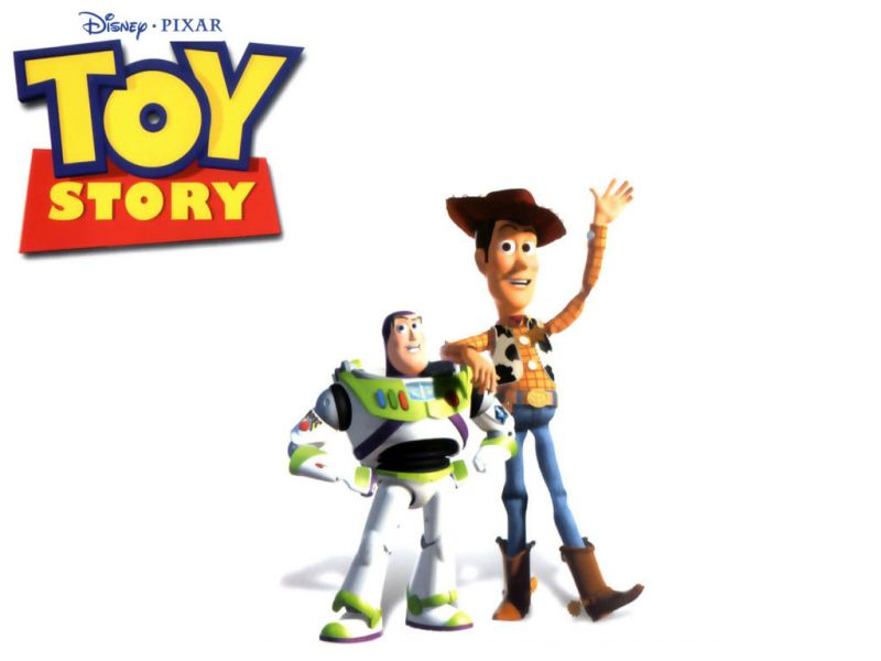Woody And Buzz White Background Wallpaper 800x600
