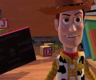Woody Closeup Grin Wallpaper