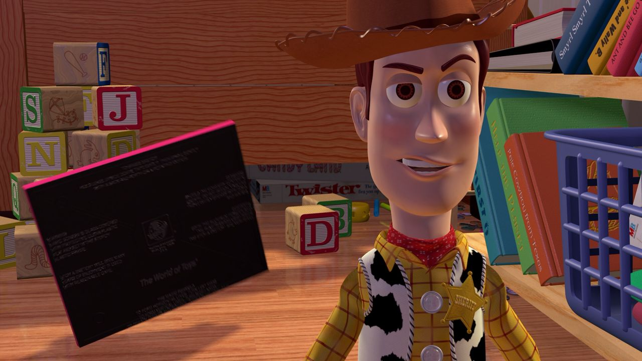 Woody Closeup Grin Wallpaper 1280x720