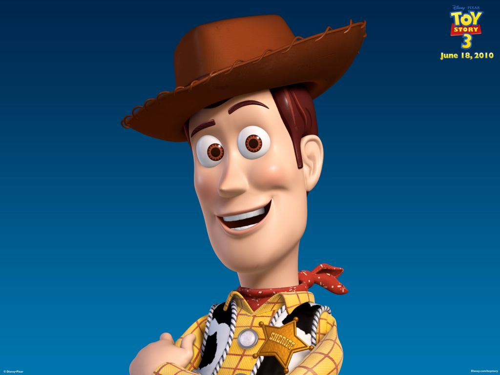 Woody Headshot Toy Story 3 Wallpaper 1024x768