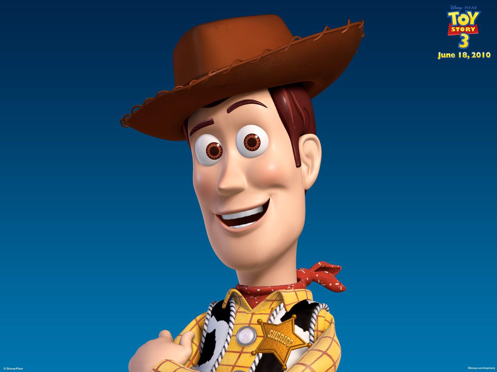 Woody Headshot Toy Story 3 Wallpaper 1600x1200