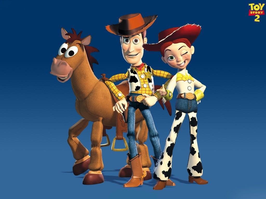 Woody Jessie And Bullseye Wallpaper 1024x768