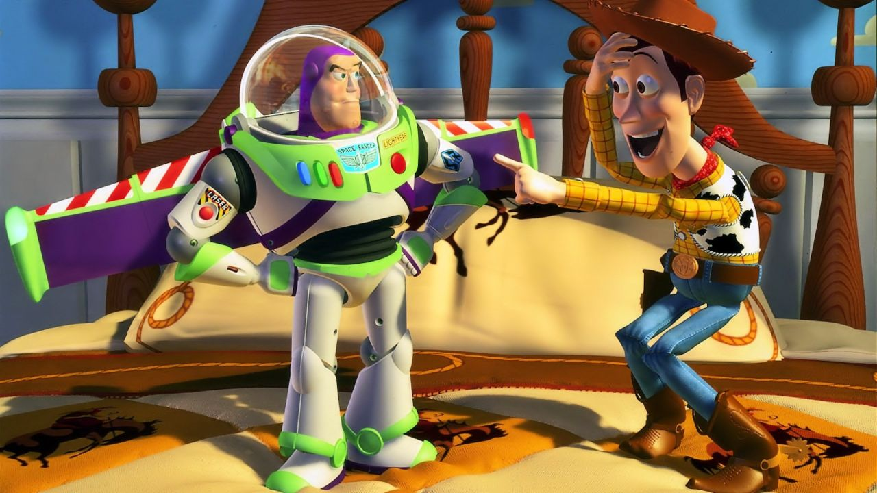 Woody Laughing At Buzz Wallpaper 1280x720