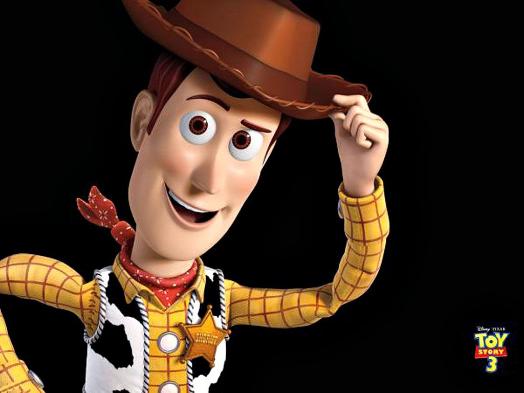 Woody Portrait Holding Hat Wallpaper 1024x768