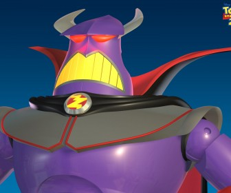 Zurg Headshot Toy Story 2 Wallpaper