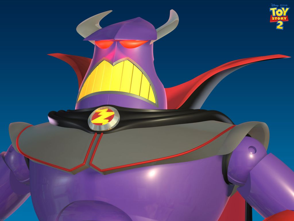 Zurg Headshot Toy Story 2 Wallpaper 1024x768